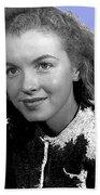 Marilyn Monroe Then Norma Jeane Dougherty Photo By H. Maier Studios Los Angeles Ca C.1943-2014 Beach Towel