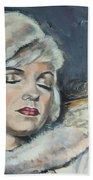 Marilyn Monroe - Unfinished Beach Towel