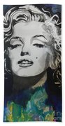 Marilyn Monroe..2 Beach Towel by Chrisann Ellis