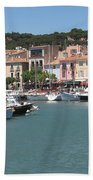 Marina Cassis Beach Towel