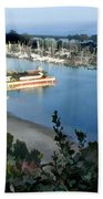 Marina Overlook Beach Towel
