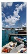 Marina St Thomas Virgin Islands Beach Towel
