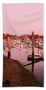 Marina Sunrise Beach Towel