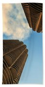Marina Towers Beach Towel