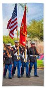 Marine Color Guard - Paint Beach Towel