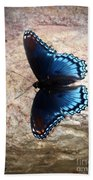 Mariposa Azul Beach Towel