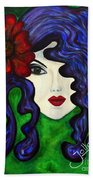 Mariposa Fairy Queen Beach Towel