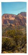 Markaqunt  Mesa In Kolob Beach Towel