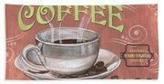 Marsala Coffee 2 Beach Sheet