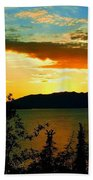 Marsh Lake - Yukon Beach Towel