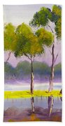 Marshlands Murray River Red River Gums Beach Towel