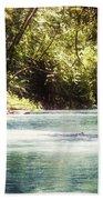 Martha Brae River Beach Towel