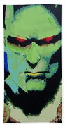 Martian Manhunter - A Close Encounter Beach Towel