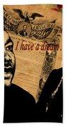 Martin Luther King Jr 2 Beach Towel
