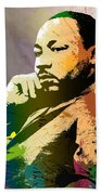 Martin Luther King Jr.  Beach Towel