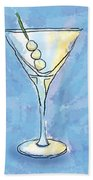 Martini Lunch Beach Towel
