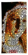 Mary - Holy Mother By Sharon Cummings Beach Towel