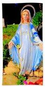 Mary In Sunlight Beach Towel