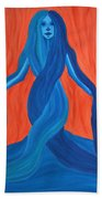 Mary - Mother Of Earth - Mother Of Light Beach Towel