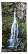 Marymere Falls Olympics Beach Towel
