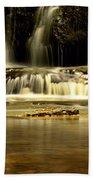 Mash Fork Falls Beach Towel