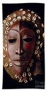 Mask From Ivory Coast Beach Towel