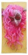 Mask Pastel Chalk 2 Beach Towel