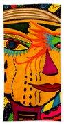 Masks We Wear - Face Beach Towel