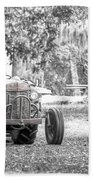 Massey Ferguson Tractor Beach Towel