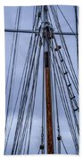Mast And Rigging Series Number Two Beach Towel