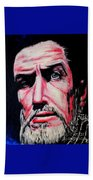 Master Of The Macabre-vincent Price  Beach Towel