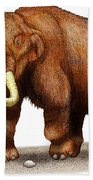Mastodon Beach Towel
