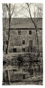 Mather's Grist Mill Beach Towel