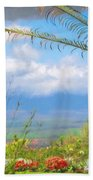 Maui Botanical Garden Beach Towel