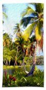 Mauna Lani Fish Ponds Beach Towel