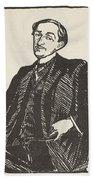 Maurice Barres, Copy By Boris Beach Towel