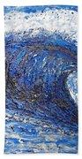 Mavericks Wave Beach Towel by RJ Aguilar