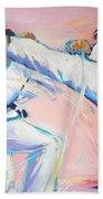 Mawashi Geri Beach Towel