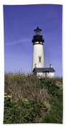 May At The Lighthouse Beach Towel