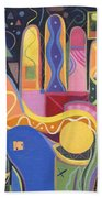 May Creativity Be A Blessing Beach Towel
