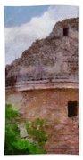 Mayan Observatory Beach Towel