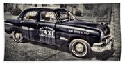 Mayberry Taxi Beach Towel