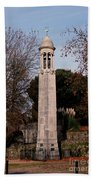 Mayflower Memorial Southampton England Beach Towel