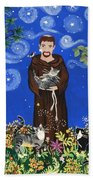 May's St. Francis Beach Towel by Sue Betanzos