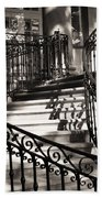 Mccormick Mansion Staircase Beach Towel