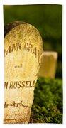 Mcgavock Confederate Cemetery Beach Towel