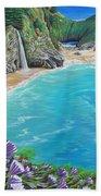 Mcway Falls Beach Towel