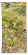 Meadow With Butterflies Beach Towel