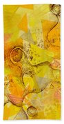 Meandering Melody Beach Towel