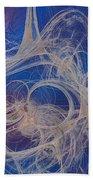 Meanti Beach Towel by Jeff Iverson